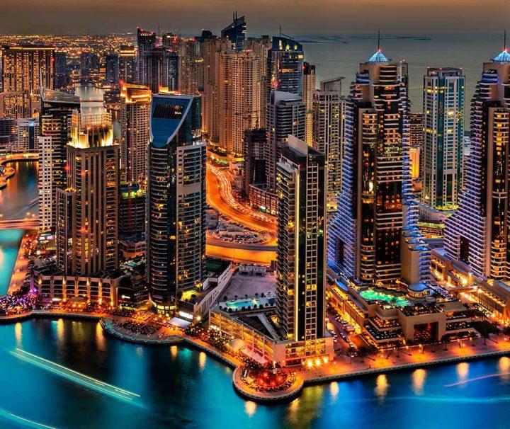Нова година 2018 Дубай