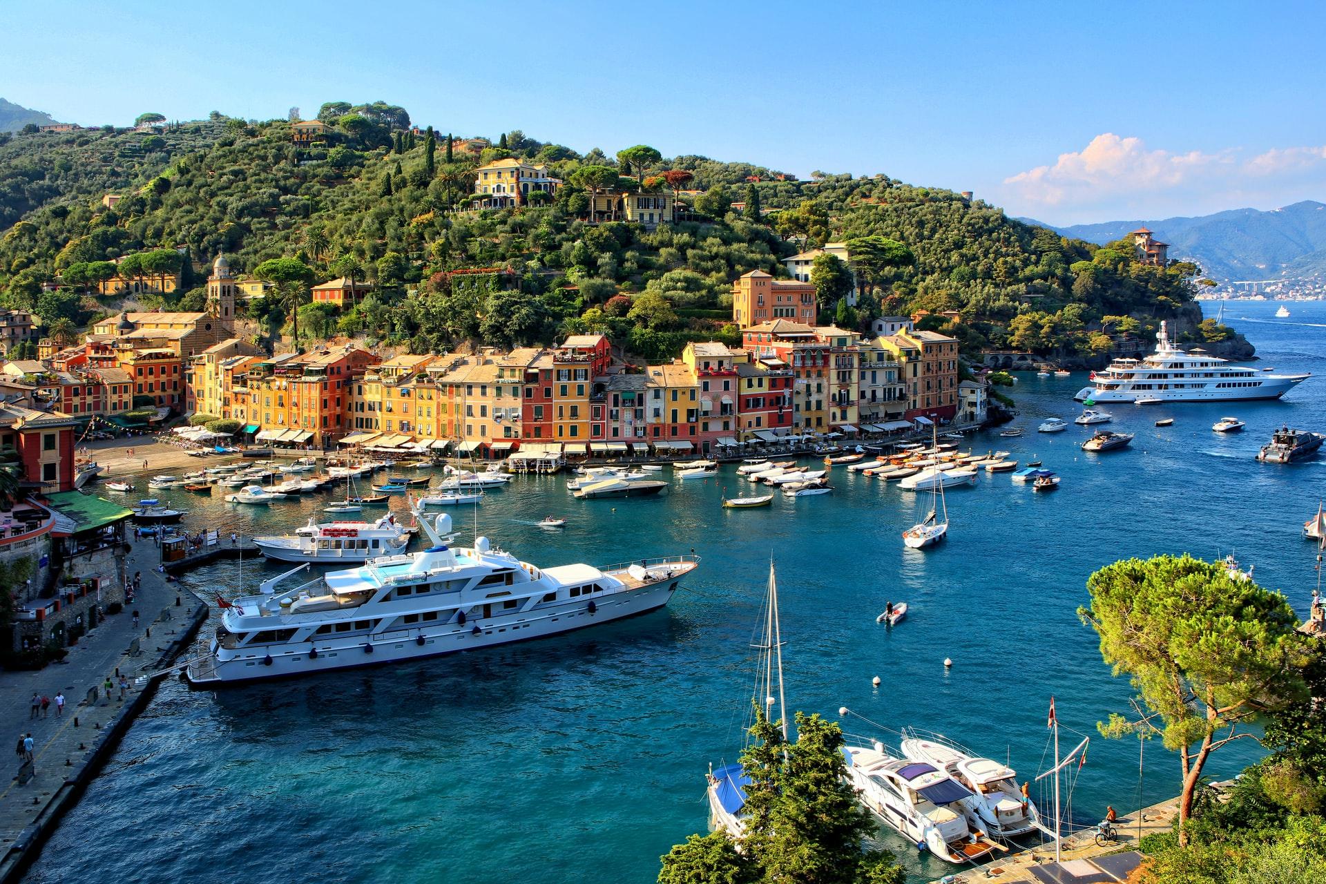 Италианската Ривиера на изгряващото слънце, с посещение на Портофино и Чинкуе Тере